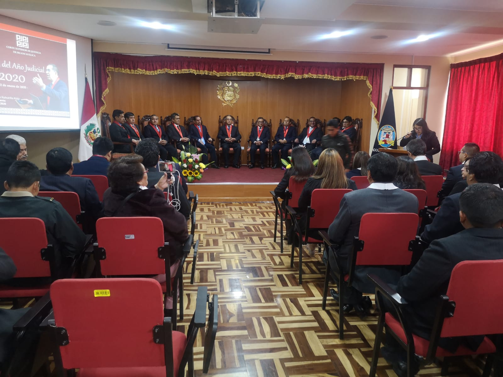 REGIDOR PROVINCIAL FREDDY CENCÍA PARTICIPO DE LA CEREMONIA DE APERTURA DEL AÑO JUDICIAL 2015